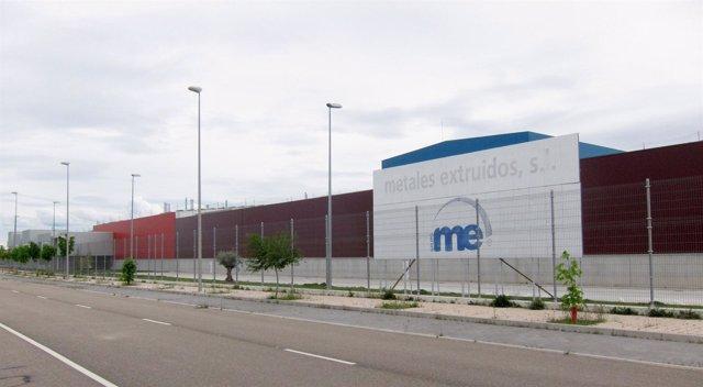 Factoría de Metales Extruidos en el Polígono de Jalón