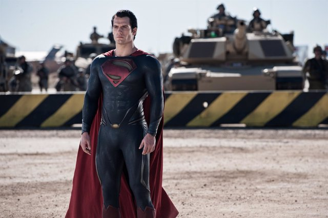 HENRY CAVILL as Superman in Warner Bros. Pictures' and Legendary Pictures' actio