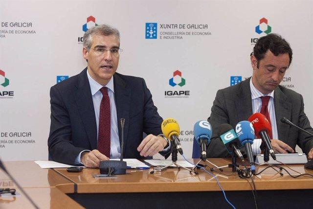 O conselleiro de Economía e Industria, Francisco Conde