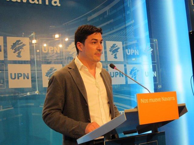 El secretario general de UPN, Óscar Arizcuren.