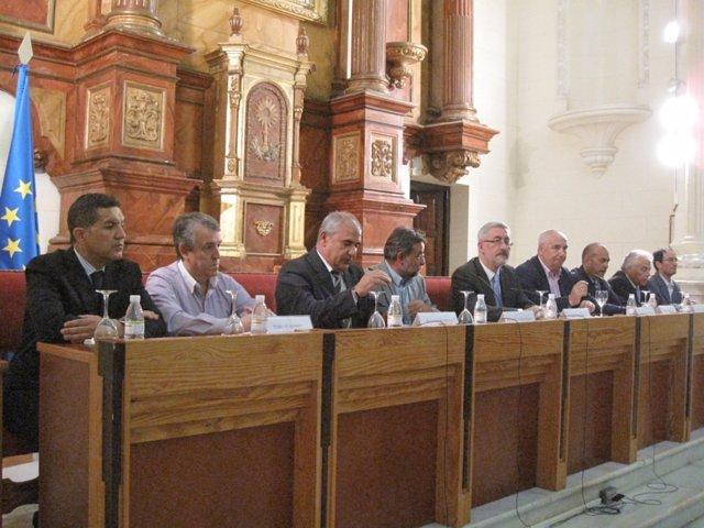 Firma del Acuerdo por la Economía Social Andaluza.