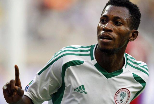 El jugador de Nigeria Nnambi Oduamadi