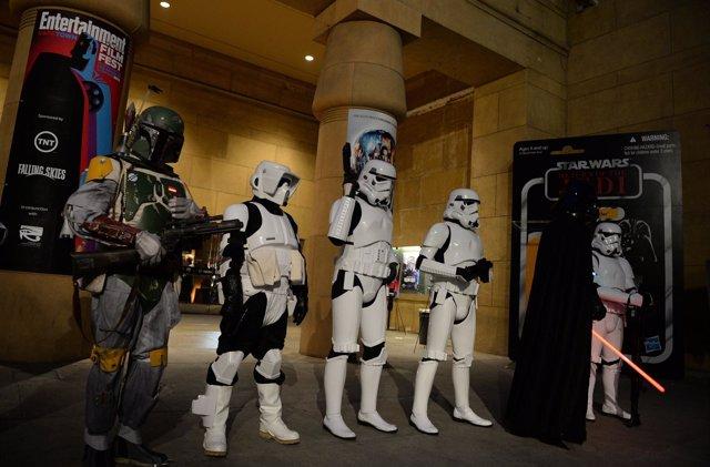 Star Wars podría tener su parque temático