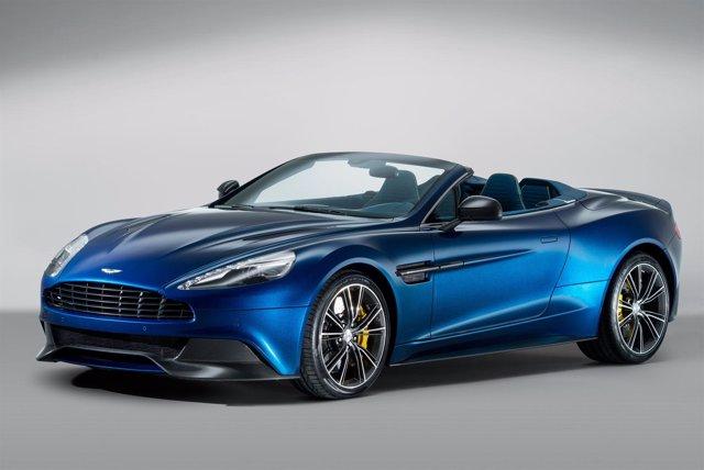 Aston Martin desvela el Vanquish Volante