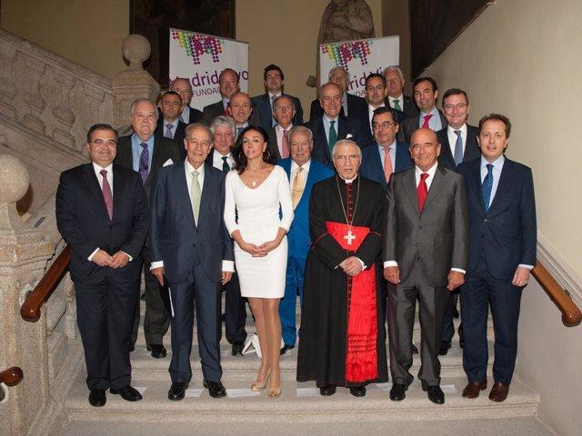 Reunión patronato Fundación Madrid Vivo Junio 2013