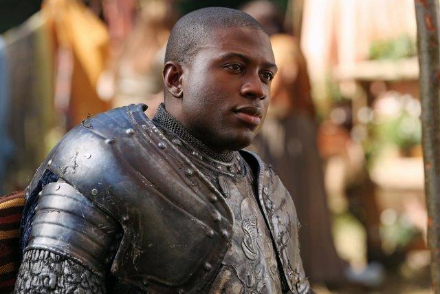 Sinqua Walls como Lancelot