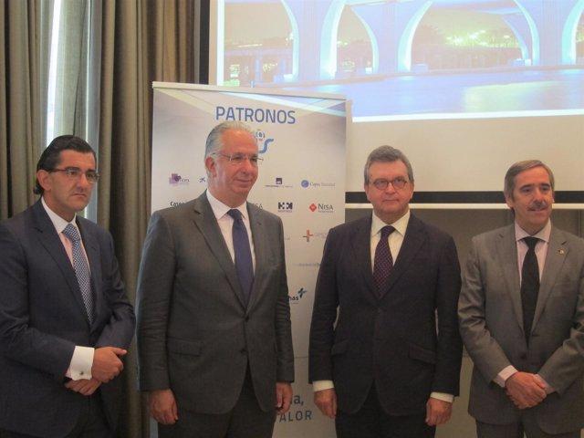 Juan Abarca, Javier Murillo, José Ramón Rubio y Fernando Mugarza