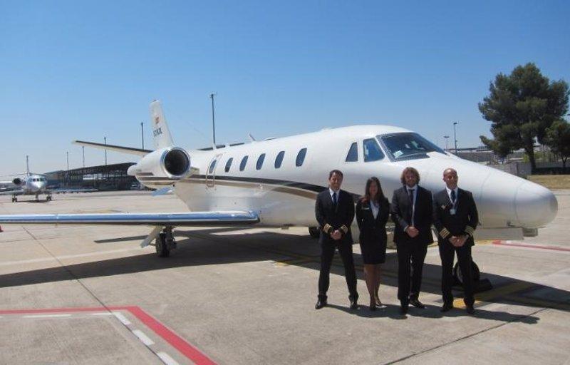 Air europa presenta su divisi n de jets privados que - Terminal ejecutiva barajas ...