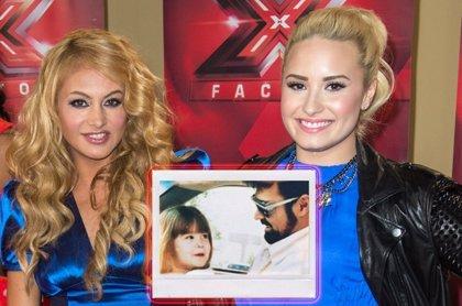 A pesar de las riñas, Paulina Rubio le da el pésame por la pérdida de su padre a Demi Lovato