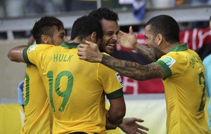 Fútbol/Confederaciones.- Brasil vence a Uruguay sin 'jogo bonito'