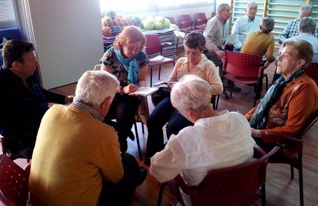 Personas mayores en San Fernando