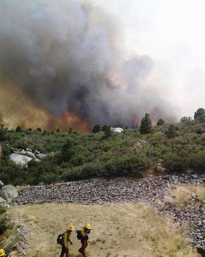 Mueren 19 bomberos en un incendio en Arizona