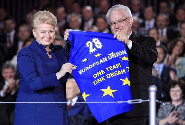 El presidente de Croacia, Ivo Josipovic.