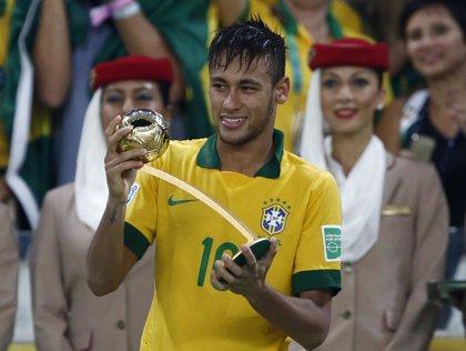 Fútbol/Confederaciones.- Neymar, 'Balón de Oro', ya es una realidad mundial
