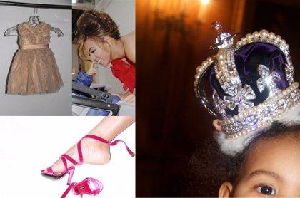 Un sonajero con diamantes, un balancín de 300.000 euros y ahora... la hija de Beyonce tiene su propia corona