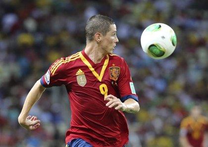 """Fútbol/Confederaciones.- Torres: """"Volveremos para defender lo nuestro"""""""