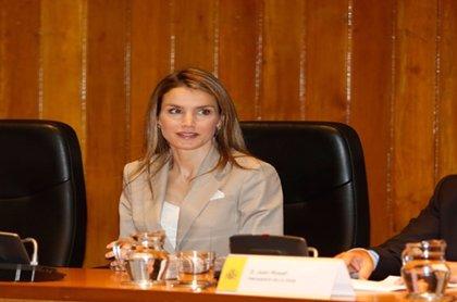 La princesa Letizia presenta el Proyecto de Promoción de las Mujeres a puestos de Alta Dirección.