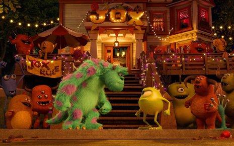 Monstruos University', Mike y Sully cara a cara