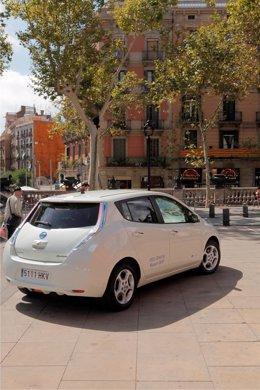 Nissan Leaf en Barcelona