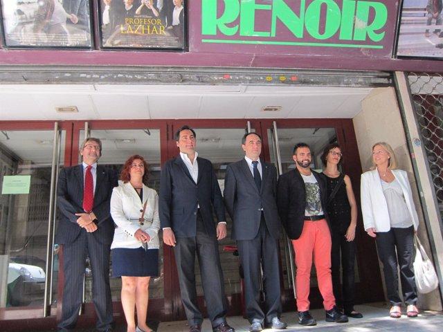 Presentación del nuevo centro de danza en el antiguo cine Renoir Les Corts