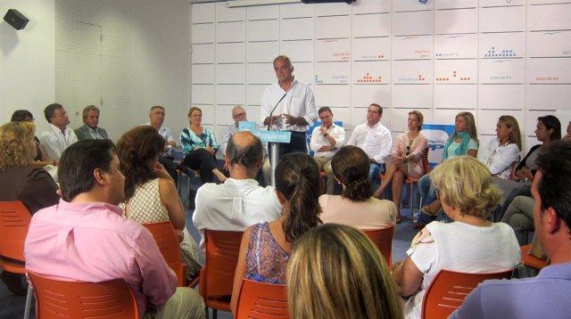 González Pons interviene en el Comité de Dirección del PPCV