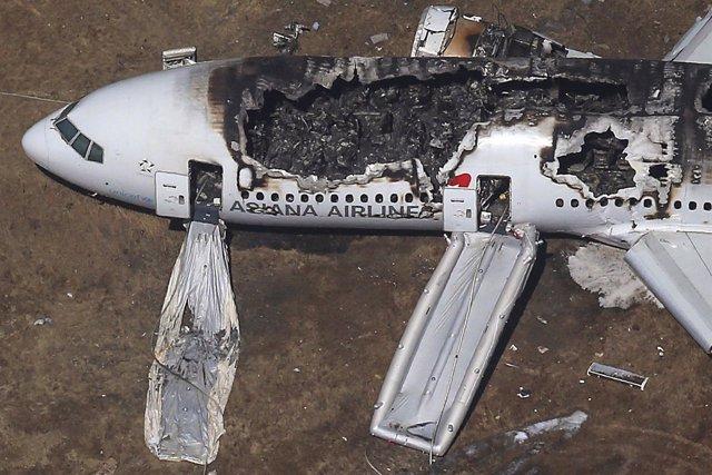 El accidente aéreo de San Francisco se salda con 2 muertos y 182 heridos