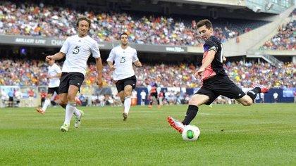 Messi firma un 'hat-trick' en un amistoso benéfico en Chicago