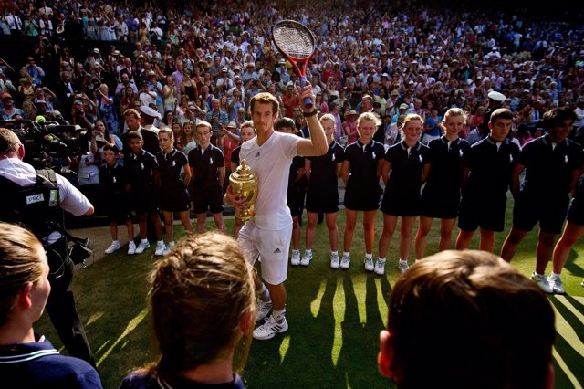 Andy Murray gana Wimbledon