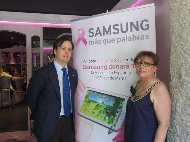 Presentación campaña Samsung y FECMA