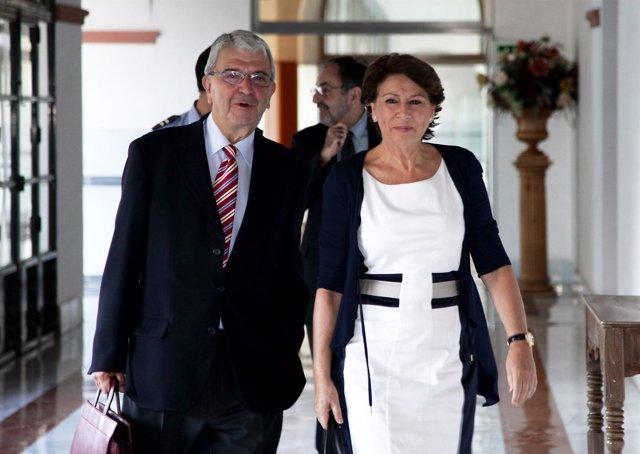 Magdalena Álvarez llega a la comisión del caso ERE