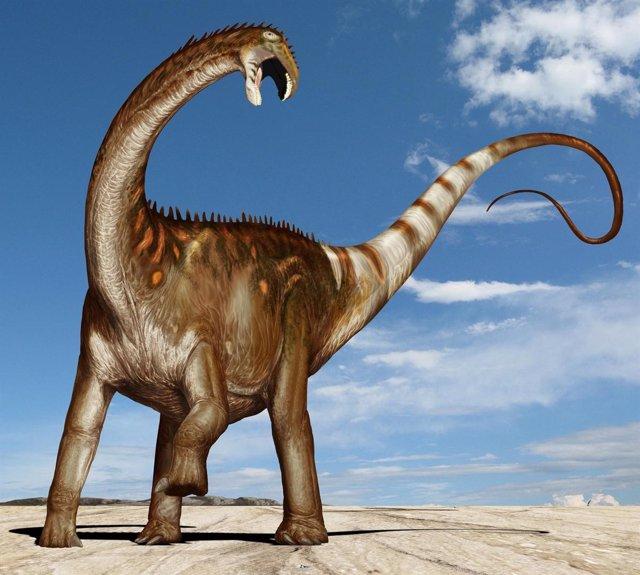 Dinosaurio que respira como un ave
