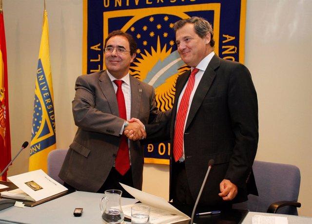 UPO y Ceade firman la adscripción del Centro Universitario San Isidoro
