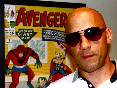 Vin Diesel se reune con Marvel