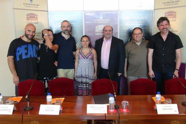 Presentación 'Carmina Burana' en Oviedo