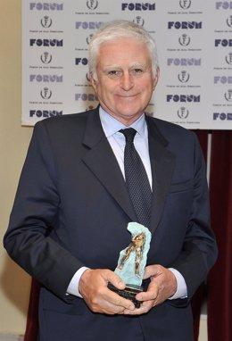 Paolo Vasile, premio del Real Fórum de Alta Dirección