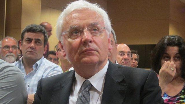 Ferran Mascarell, conseller de Cultura de la Generalitat