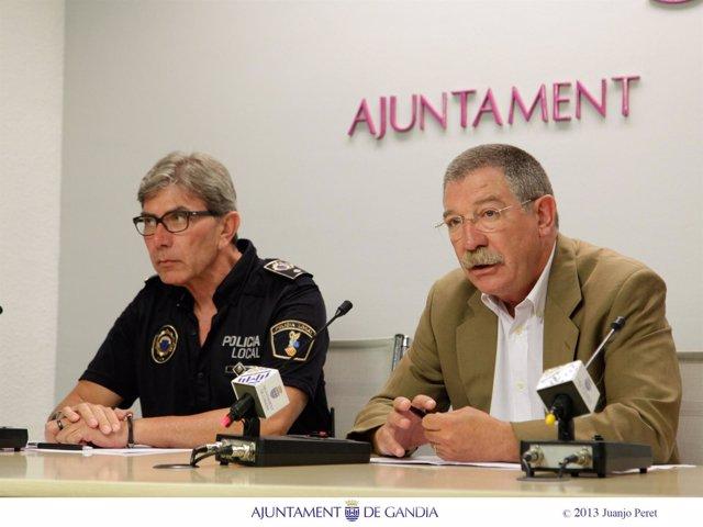 Javier Reig y Marc Cuesta en rueda de prensa