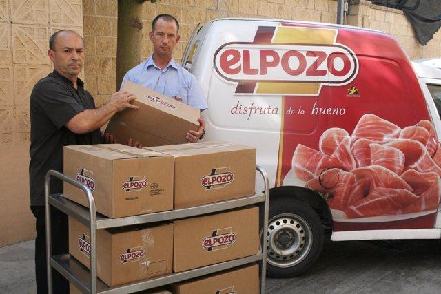 Donación periódica productos ElPozo