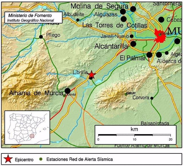 Terremoto en Librilla
