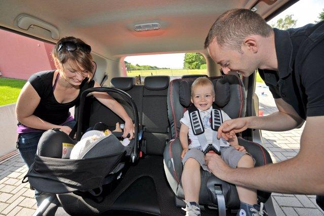 Consejos de conducción, sillitas infantiles,