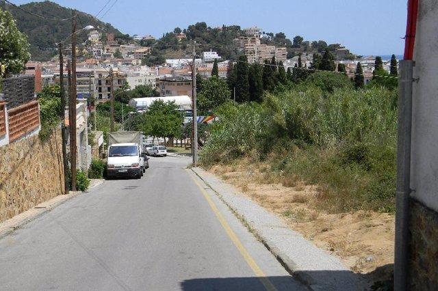 Mejora de una red de media tensión de Endesa  en Tossa de Mar