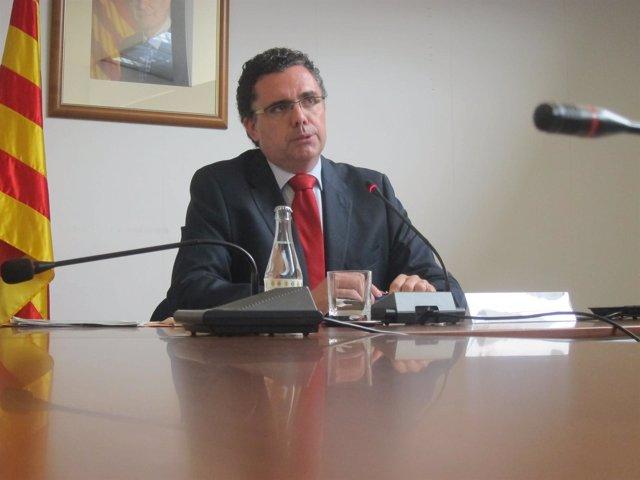 El director de la Agencia Catalana de Residuos, Josep M. Tost
