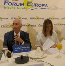 Luciano Alonso y Susana Díaz