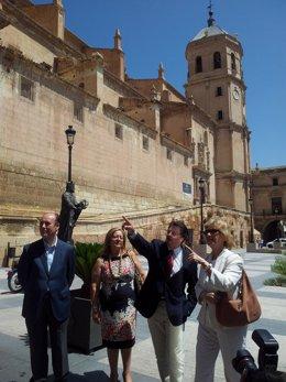Visita de la Defensora del Pueblo a Lorca