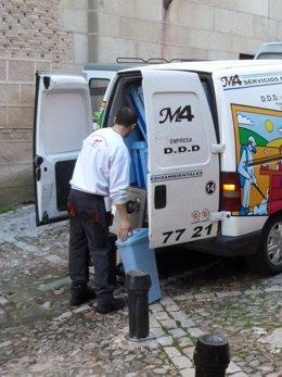 Autonomos, servicios, furgoneta