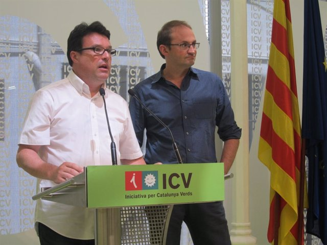 Joan Josep Nuet y Joan Herrera, ICV-EUiA