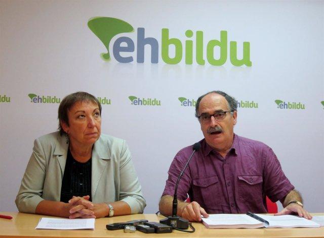 Marian Bilbatua y Xabier Isasi