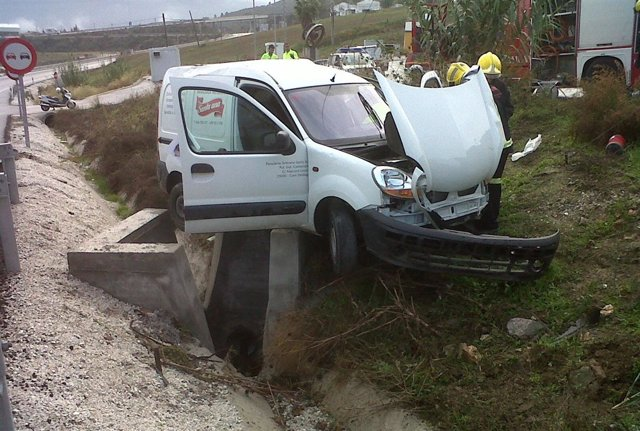 Vehículo Accidentado Accidente Turismo Coche
