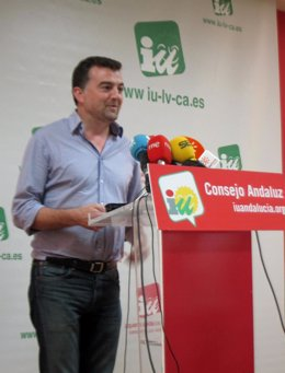 Antonio Maíllo hoy en rueda de prensa