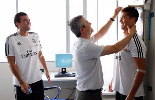Pepe y Cristiano Ronaldo, reconocimientos en el Real Madrid